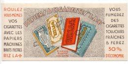 Buvard - Papier à Cigarette Rizla+ - Tobacco