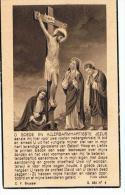 Bidprentje Van Cauwenberge Petrus 1865 Steenhuize / 1945 Steenhuize - Religión & Esoterismo