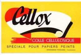 Buvard - Cellox - Colle Cellulosique - Buvards, Protège-cahiers Illustrés