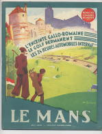 REVUE Des USAGERS De La ROUTE : LE MANS 10 Pages Sur Les 24h , 2 Pages Sur Le Golf - Livres, BD, Revues