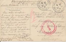 Carte Vue La Varenne - Marne - Expédié St Hilaire 13-11-14 Vers Officier (capitaine) Belge Au Alten Festung Magdeburg - WW I