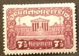 Austria 1919-21 Pairlament - 1918-1945 1. Republik