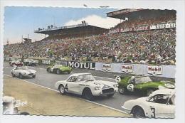 LE MANS : Circuit Des 24 Heures - Le Démarrage Des Voitures - 3 JIPE Imp. Phot. Georget-Dolbeau - Le Mans