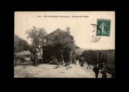 14 - LUC-SUR-MER - Arrivée Du Train - Gare - Luc Sur Mer
