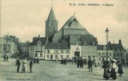 62 SAMER  L'Eglise  (très Animée) - Samer