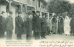 78 CARRIERES-SOUS-BOIS  L'Hôpital M Lutaud Gouverneur Adresse Un Discours Aux Blessés Musulmans - Francia