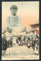 Japan - Great Buddha At Nofukuji Temple, Hiogo, Kobe Postcard - Kobe