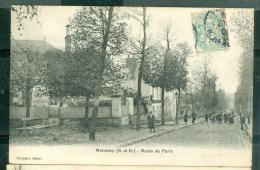 Mennecy, Route De Paris     Abs28 - Mennecy