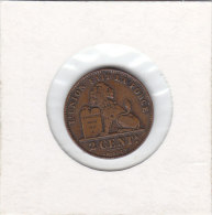 2 CENTIMES Cupro-nickel Albert I 1912 FR - 02. 2 Centimes