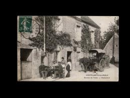 14 - MORTEAUX-COULIBOEUF - Bureau De Tabac - Attelage Cheval - Caen
