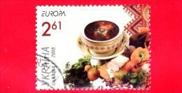 UCRAINA - Usato -  2005 - Europa - 2,61 G. • Zuppa Di Verdure - Gastronomia - Ucraina