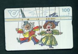 AUSTRIA - Optical Phonecard Used (stock Scan)