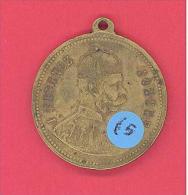 Franz Joseph 896 -  1896 Gedenkmünze In Ungarische Sprache - Royal / Of Nobility