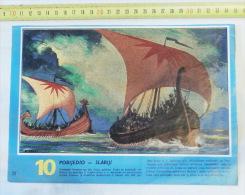 Trier - Battleship Persian Navy / Navire Caravelle Sailboat Sailing Ship Volier ,,beak As A Weapon, 5th Century BC - Boats