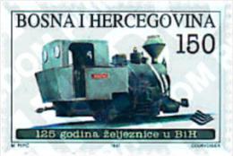 Ref. 224401 * MNH * - BOSNIA-HERZEGOVINA. 1997. ANNIVERSARIES . ANIVERSARIOS - Bosnie-Herzegovine