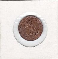 2 CENTIMES Cuivre Albert I 1919/4 FR - 02. 2 Centimes