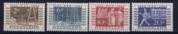 Netherlands: 1952 NVPH Nr 592 - 595 MNH/** - Ungebraucht