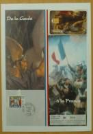 Télécarte CEF 21 - CLOVIS, DE LA GAULE A LA FRANCE - Encart N°1876 - 1996 - Francia