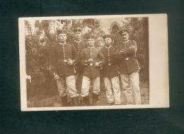 Carte Photo - Hanau - Militaria - Groupe Soldats Allemands   ( Armée Allemande  Guerre 1914-1918 ) - Hanau