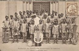 TOGO.1909.COLONIE ALLEMANDE.Musique Des Troupes Impériale Du Cameroun . CP82 - Colonie: Togo