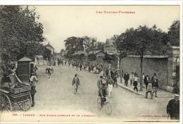 Carte Postale Ancienne Tarbes - Rue Alsace Lorraine Et De L'Arsenal - Tarbes