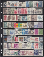 Sweden 160 Stamps Issued 1965 To 1980 - Timbres