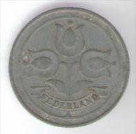 PAESI BASSI 10 CENTS 1942 - 10 Cent