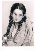 La Petite Fille Triste - MADRASSI - Musée MADRASSI - Non Circulée, 2 Scans - Pittura & Quadri