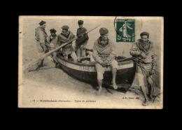 14 - OUISTREHAM - Pêcheurs - Ouistreham