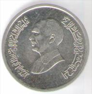 GIORDANIA 5 PIASTRES 1992 - Giordania