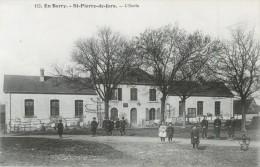 36 EN BERRY - ST / SAINT PIERRE DE JARS - L ECOLE ( ANIMEE ) - France