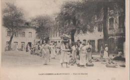 .SAINT PIERRE LA MARTINIQUE ( Place Du Marche ) - Cartes Postales