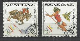 SENEGAL 1990 - 2 HIGHEST VALUES - USED OBLITERE GESTEMPELT USADO - RARE - Sommer 1992: Barcelone