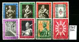 - VATICANO - Year 1962 - Conciglio Ecum. Vaticano II - Serie Completa - Viaggiati - Traveled - Reisen. - Vaticano