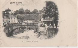 ..MARTINIQUE ( Saint Pierre - Le Pont De Pierre ) - Cartes Postales