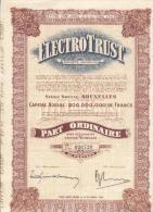 Electro Trust - Rood - Electricité & Gaz