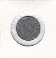 10 REICHSPHENNIG Zinc  1940 F - 10 Reichspfennig