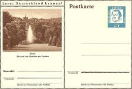 Bildpostkart Kassel Blick Auf Den Herkules Mit Fontane   Mint - Vakantie & Toerisme
