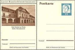 Bildpostkart  Stadt Marbach Am Neckar Schiller Nationalmuseum   Mint - Musea