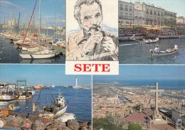 34 - SETE - Multivues. - Sete (Cette)
