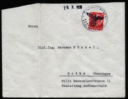 A2386) DR Brief Sudetenland Mit Notstempel Neurettendorf ? 29.10.1938 - Briefe U. Dokumente