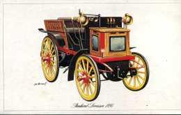 Marque Panhard Levassor 1895 - Illustrateur : P. Dumont - (11,5 Cm X 18,5 Cm) - Voitures