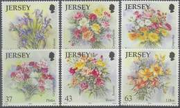 Jersey 1998 Yvertn° 854-59 *** MNH Cote 11 Euro Flore Bloemen Flowers - Jersey