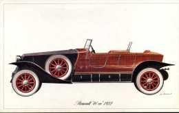 """Marque Renault """" 40 Cv """" 1922 - Illustrateur : P. Dumont - (11,5 Cm X 18,5 Cm) - Voitures"""