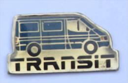 Pin's FORD TRANSIT - Le Fourgon De Couleur Bleue - Progexion  - C1077 - Ford