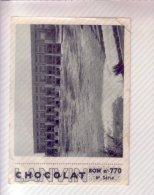 CHROMO CHOCOLAT LANVIN N°770 6ème Série BARRAGE De KEMBS Sur Le RHIN - Chocolat