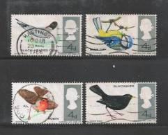 UK 1966 Used Stamp(s) British Birds Nrs. 425-428 - 1952-.... (Elizabeth II)