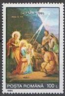 Romania 1995 Christmas Art  Mi 5154- MNH (**) - Unused Stamps