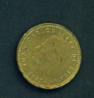SPAIN - 1975  1p  Circulated - [ 5] 1949-… : Kingdom