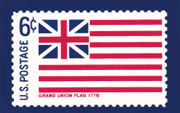 United States Postal Stamp Issue Grand Union Flag 1776 - Stamps (pictures)